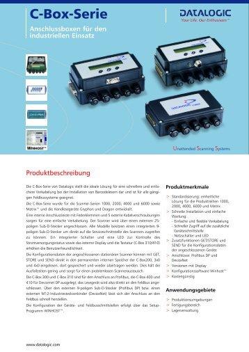 Anschlussboxen für den industriellen Einsatz - bei ID-Systems