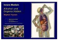 Innere Medizin Alkohol und Organschäden - Mobile Lecture Uni ...