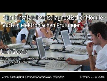 Folien in PDF-Format - Mobile Lecture Uni Bremen