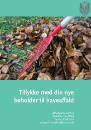 Sorteringsvejledning til haveaffald - Aarhus.dk