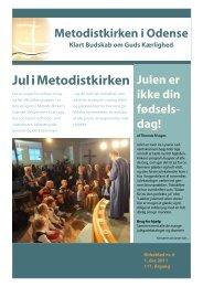 Jul i Metodistkirken - Metodistkirken i Odense