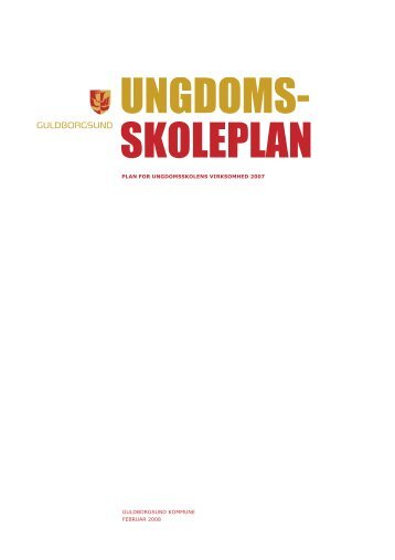 ungdomsskoleplan - Guldborgsund Ungdomsskole