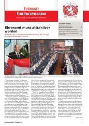 Mitgliederinfo 05/2009 - Thüringer Feuerwehrverband e.V.