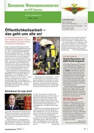 Landesfeuerwehrverband Sachsen - Feuerwehr - Retten - Löschen ...