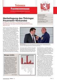 Mitgliederinfo 11/2009 - Thüringer Feuerwehrverband e.V.