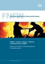 Normen im Feuerwehrwesen - Freiwillige Feuerwehr Marktredwitz