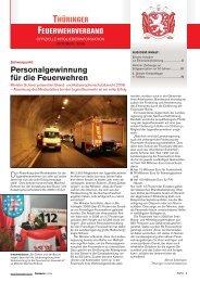 Mitgliederinfo 10/2009 - Thüringer Feuerwehrverband e.V.