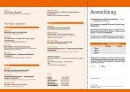 Flyer mit Anmeldemöglichkeit - Bundesarbeitsgemeinschaft für ...