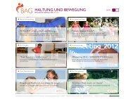 Magazin & Newsletter / 04.2012 - Bundesarbeitsgemeinschaft für ...