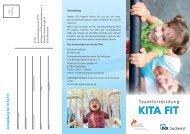 KITA FIT - Bundesarbeitsgemeinschaft für Haltungs