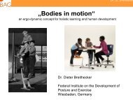 """""""Bodies in motion"""""""