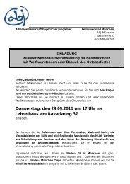 Einladung und Programm - MLLV - BLLV