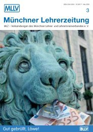 MLZ-Ausgabe Nr. 3 - 2008 - MLLV - BLLV