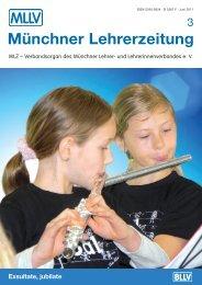 MLZ-Ausgabe Nr. 3 - 2011 - MLLV - BLLV