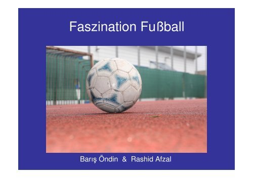 Faszination Fußball