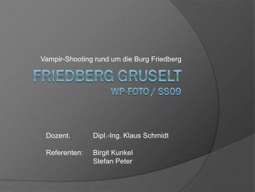 Friedberg gruselt