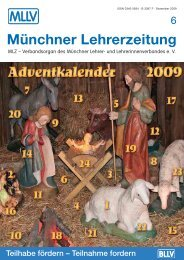 MLZ-Ausgabe Nr. 6 - MLLV - BLLV