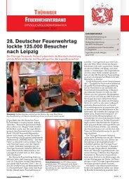 Mitgliederinfo 07/2010 - Thüringer Feuerwehrverband e.V.