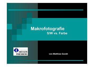 S/W vs. Farbe