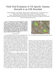 Field Trial Evaluation of UE Specific Antenna Downtilt in an LTE ...