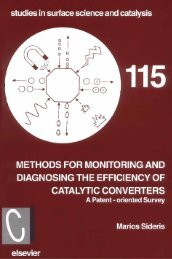 Methods for Monitoring and Diagnosing the Efficiency of Catalytic ...