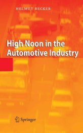 High Noon in the Automotive Industry