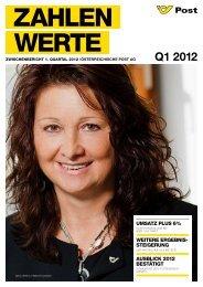 Zwischenbericht Q1 2012 - Privat - Österreichische Post AG