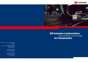 SCHENKERsystem - Schenker Deutschland AG - DB Schenker
