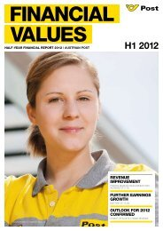 Half-year Financial Report H1 2012 - Privat - Österreichische Post AG
