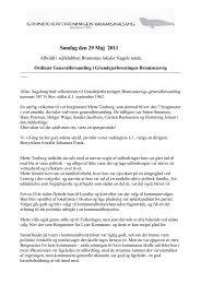 Søndag den 29 Maj 2011 - Bramsnæsvig Grundejerforening