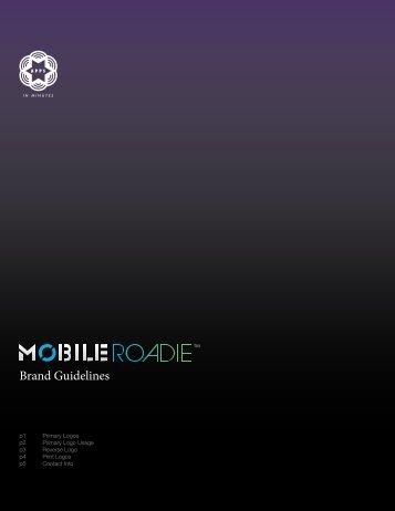 Brand Guidelines - Mobile Roadie