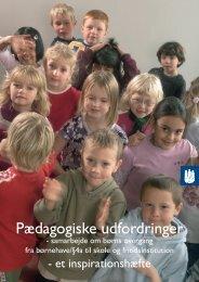 Pædagogiske udfordringer - FORENINGEN FOR TOSPROGEDE ...