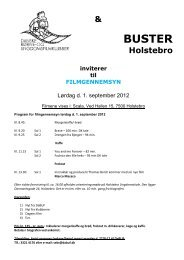 Program Holstebro 1/9-2012 - Dabuf