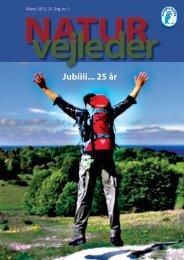 Jubiiii... 25 år - Naturvejlederforeningen i Danmark
