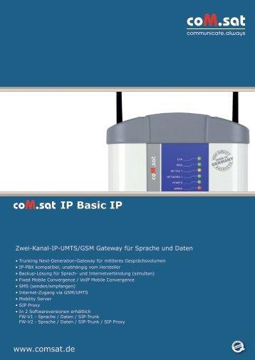 Datenblatt als pdf - com.sat