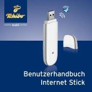 Benutzerhandbuch Internet Stick - Tchibo