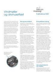 Vindmøller og drivhuseffekt - Danmarks Vindmølleforening