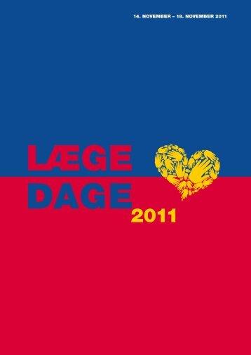 14. NOVEMBER – 18. NOVEMBER 2011 - Lægedage 2012