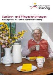Senioren- und Pflegeeinrichtungen - Stadt Bamberg