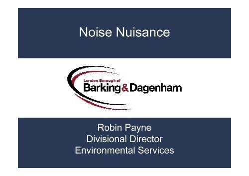Noise Nuisance PDF 608 KB