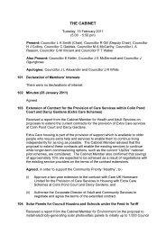 Minutes (15 February 2011) PDF 65 KB - Meetings, agendas, and ...