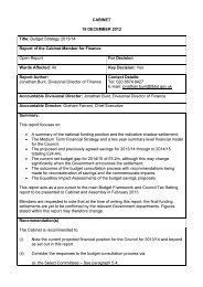 Budget Strategy 2013-14 PDF 220 KB - London Borough of Barking ...
