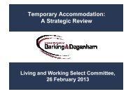 Temporary Accommodation: a strategic review PDF 163 KB