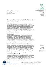En indgang for frivilligheden i København - Amager Vest Lokaludvalg