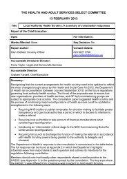 Health Scrutiny Regulations PDF 57 KB