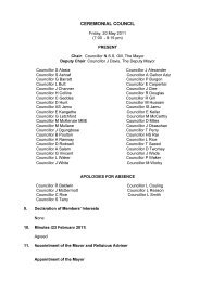Minutes (20 May 2011) PDF 23 KB - Meetings, agendas, and ...