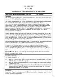 Budget Monitoring Report PDF 43 KB