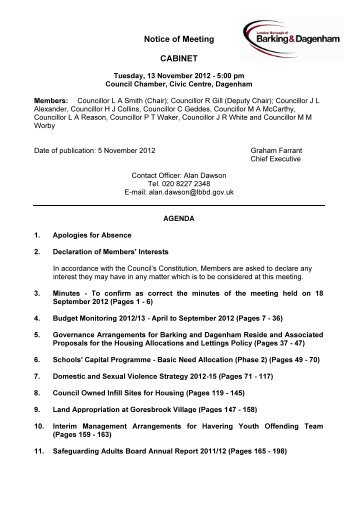 Agenda reports pack PDF 10 MB - Meetings, agendas, and minutes ...