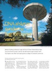 DNA afslører synderne bag forurenet vand - Elbo