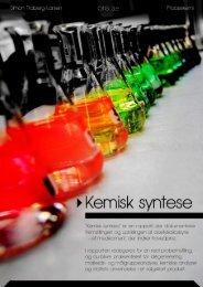 Kemisk syntese: hovedpinetablet [Jan. 2011] - Simon Traberg-Larsen